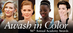 Awash in Color, the Oscars 2014